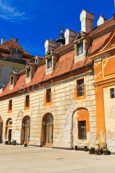 Stock photo: Valtice palace, Unesco World Heritage Site, Czech Republic