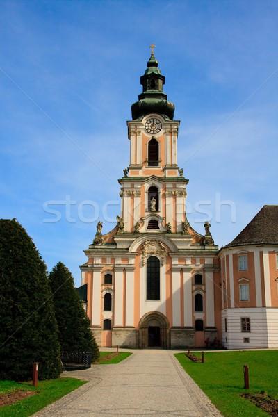 барокко монастырь Австрия свадьба здании Церкви Сток-фото © Bertl123