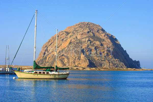 Morro Rock, Morro Bay, California Stock photo © Bertl123