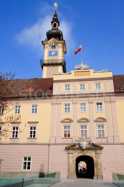 Linz - Landhaus / Upper Austrian Landtag Stock photo © Bertl123