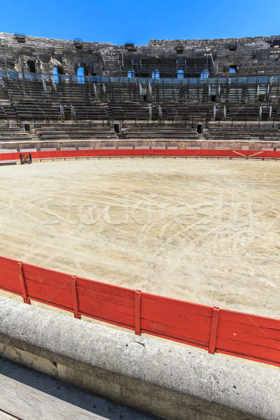 Bull Fighting Arena Nimes (Roman Amphitheater), France Stock photo © Bertl123