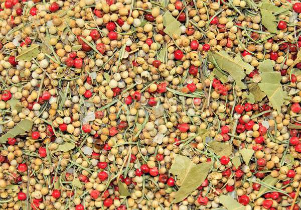 Heap of pepper corns Stock photo © Bertl123