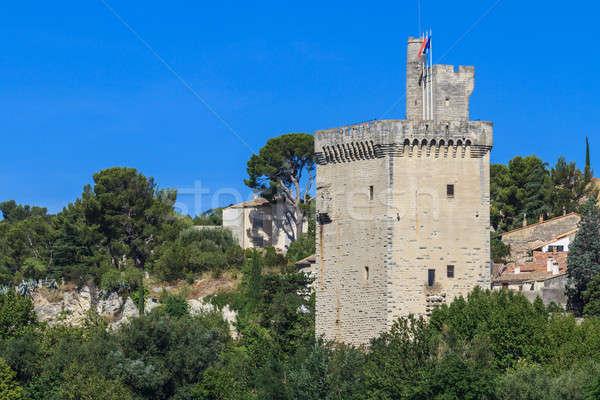 Villeneuve, Philipp le Bel Tower, Near Avignon, France Stock photo © Bertl123