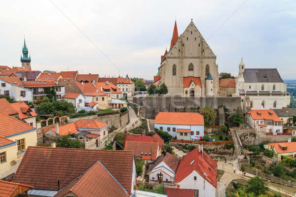 Znojmo, Czech Republic - Church of St. Nicholas and St. Wencesla Stock photo © Bertl123