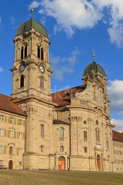 Benedictine Abbey of Einsiedeln, Switzerland  Stock photo © Bertl123