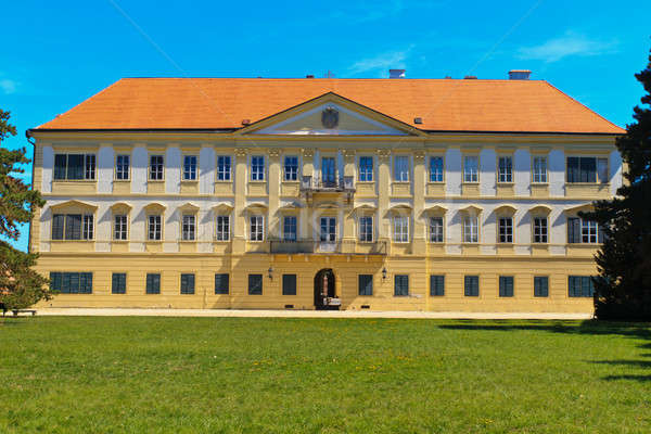 Valtice palace, Unesco World Heritage Site, Czech Republic Stock photo © Bertl123
