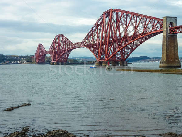 The Forth Railway Bridge near Edinburgh, Scotland Stock photo © Bertl123