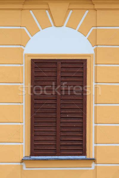 Shut window of an old house Stock photo © Bertl123