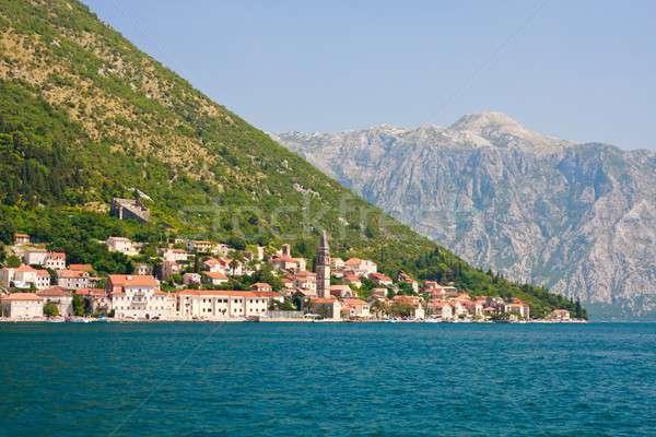 панорамный мнение Черногория воды природы пейзаж Сток-фото © Bertl123