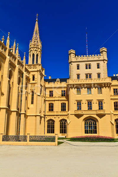 Lednice palace, Unesco World Heritage Site, Czech Republic Stock photo © Bertl123