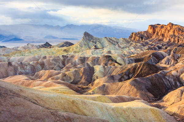 Zabriskie Point, Death Valley National Park, California Stock photo © Bertl123