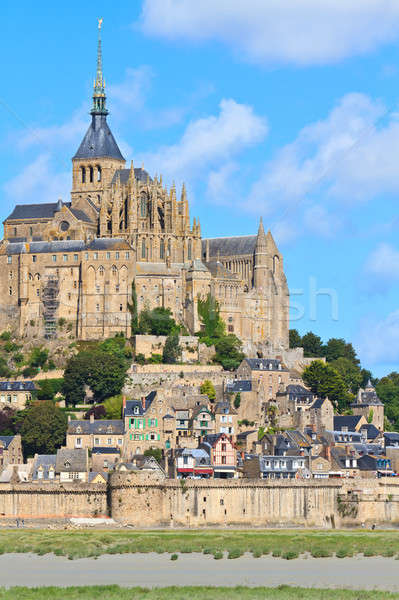 Mont Saint Michel Abbey, Normandy / Brittany, France Stock photo © Bertl123