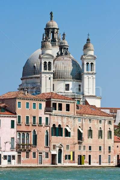 Venice Cathedral, Santa Maria della Salute Stock photo © Bertl123