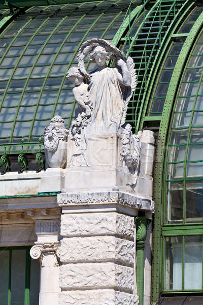 Architectural details of Palmenhaus and Hofburg palace in Vienna Stock photo © Bertl123
