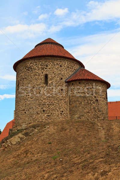 Santo Repubblica Ceca muro mondo estate chiesa Foto d'archivio © Bertl123