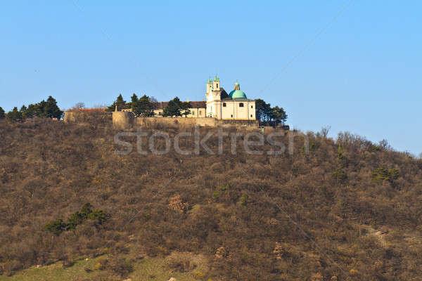 Vienna - Church on Leopoldsberg Mountain, Austria Stock photo © Bertl123