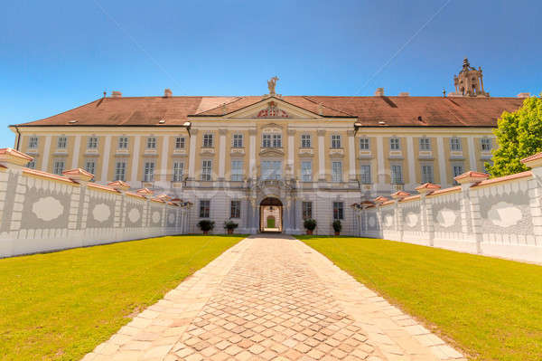 Baroque Portal at Herzogenburg Monastery Park, Austria Stock photo © Bertl123