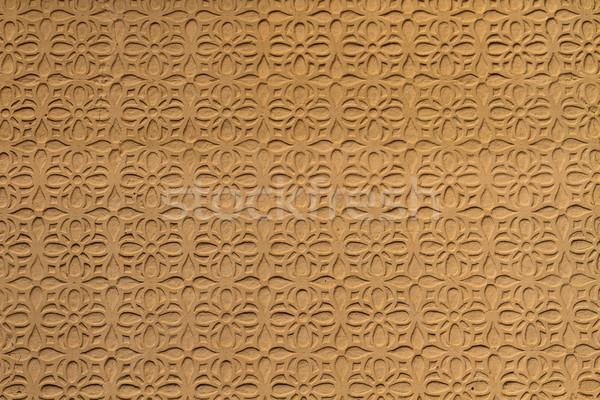 Moorish floral wall decoration, Spain  Stock photo © Bertl123