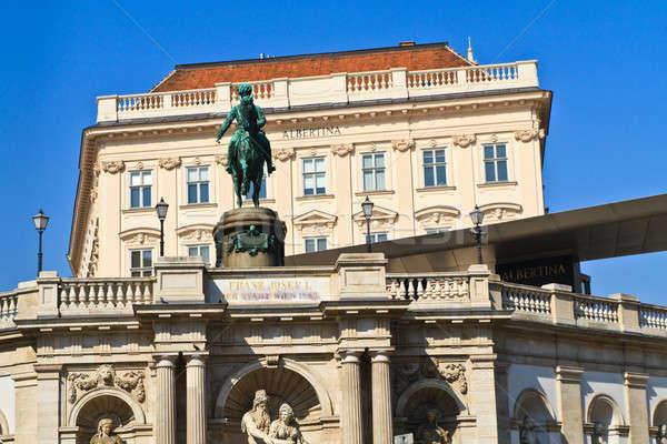 Viyana saray müze Avusturya ev Bina Stok fotoğraf © Bertl123