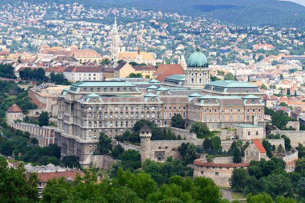 Buda Castle, Budapest, Hungary Stock photo © Bertl123