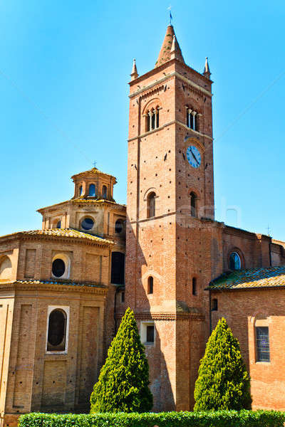 Benedictine Abbey of Monte Oliveto Maggiore in Tuscany Stock photo © Bertl123