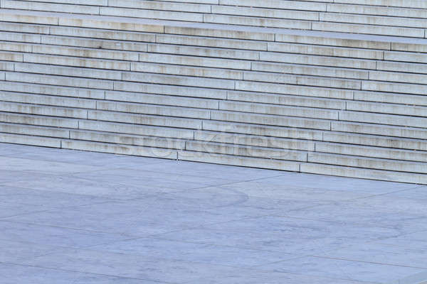 Beton merdiven model inşaat duvar dizayn Stok fotoğraf © Bertl123
