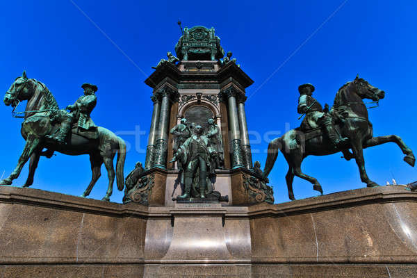 Vienna - Empress Maria Theresia Monument Stock photo © Bertl123