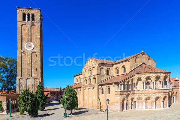 Murano, Santa Maria and San Donato Cathedral with Campanile, Ven Stock photo © Bertl123