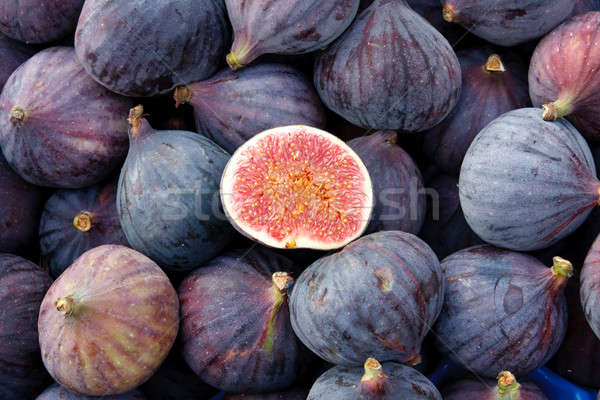 Tasty organic figs at local market Stock photo © Bertl123