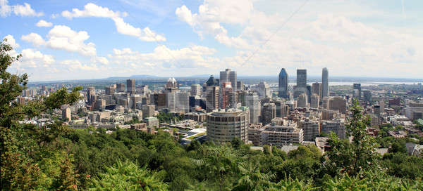 Montreal Panorama Stock photo © Bertl123