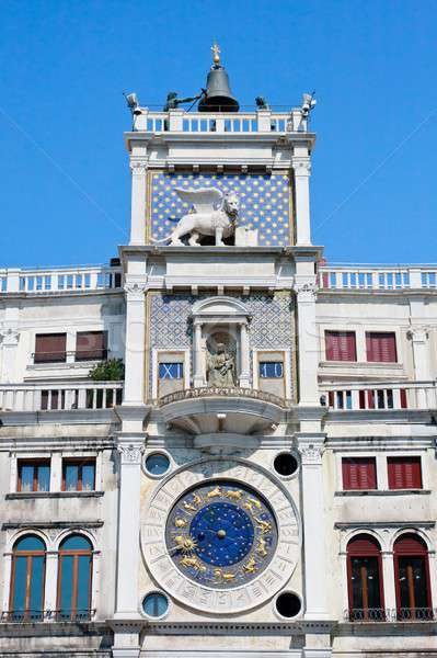 Sino sol discar torre Veneza Itália Foto stock © Bertl123