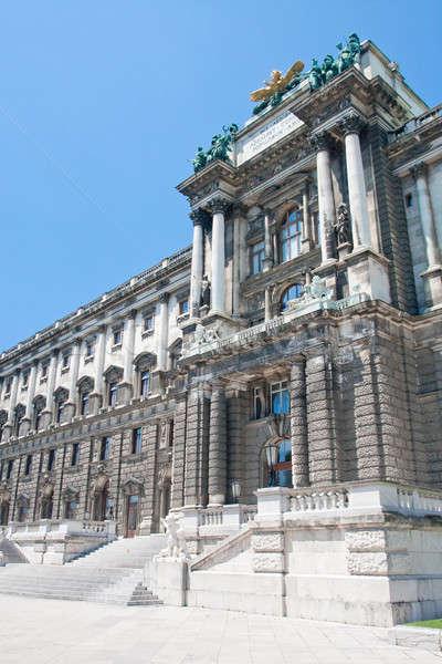 Hofburg Eingang, Ansicht vom Burggarten, Wien,  Stock photo © Bertl123