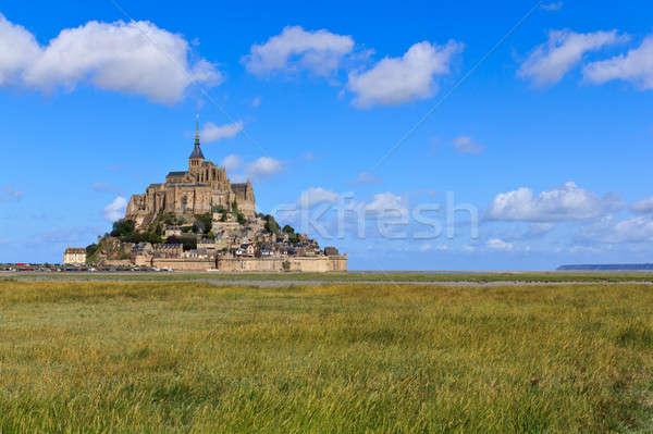 Mont Saint Michel Abbey, Normandy / Brittany, France Stock photo © Bertl123