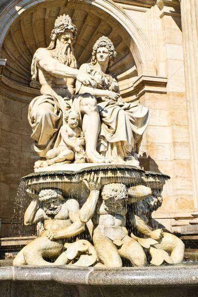 Vienna, Austria - Neptune Fountain Stock photo © Bertl123
