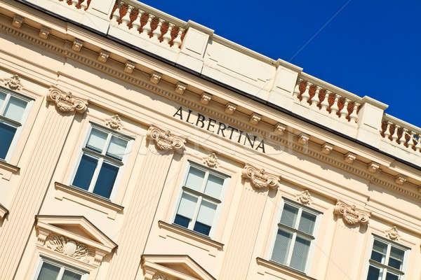 Vienna palazzo museo Austria casa costruzione Foto d'archivio © Bertl123