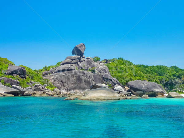 Similan Island, Koh Eight, Thailand  Stock photo © Bertl123