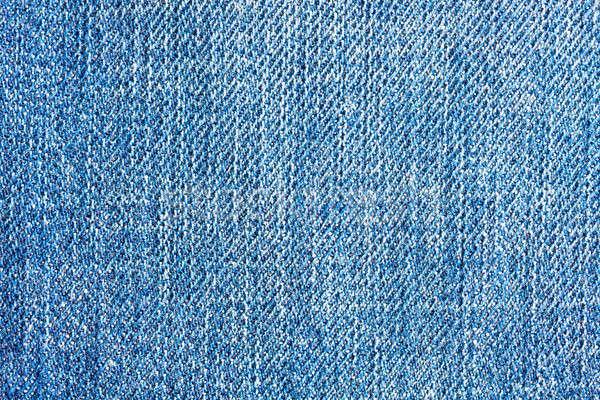 Mintázott farmernadrág farmer vászon szövet textúra Stock fotó © Bertl123