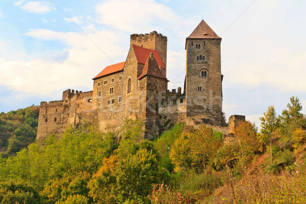 Hardegg Castle, Lower Austria Stock photo © Bertl123
