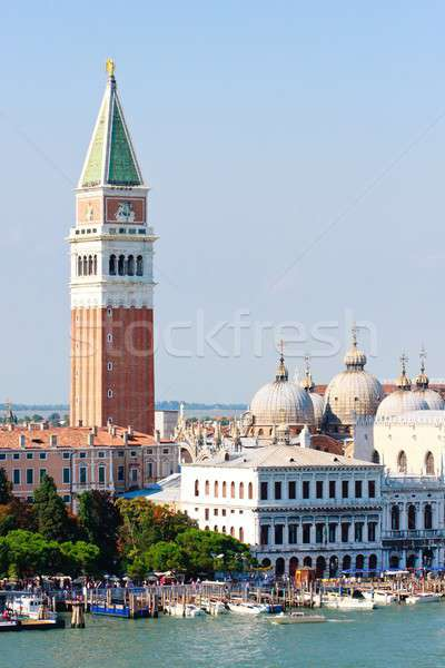 Stock photo: San Marco and Campanile, Venice, Italy