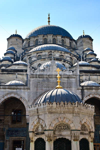 Istanbul - Yeni Mosque, New Mosque or Mosque of the Valide Sulta Stock photo © Bertl123