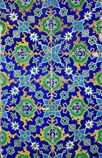 Iznik tiles colorful ornamental details Stock photo © Bertl123