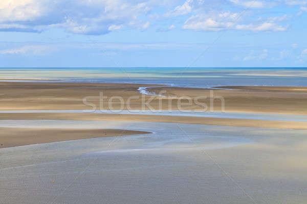 Mont Saint Michel Coastline, Normandy / Brittany, France Stock photo © Bertl123