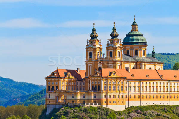 Melk - Famous Baroque Abbey (Stift Melk), Austria Stock photo © Bertl123