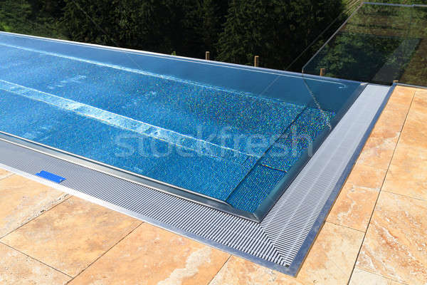 Modern Swimming Pool Stock photo © Bertl123