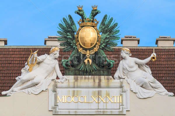 Vienna, Austria - Eagle on imperial palace Stock photo © Bertl123