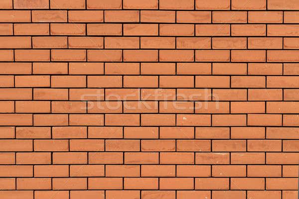 красный кирпичная стена здании стены фон каменные Сток-фото © Bertl123