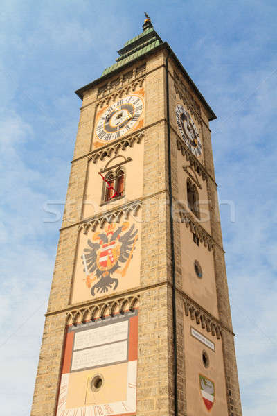 Enns City Tower / Belfry, Upper Austria Stock photo © Bertl123