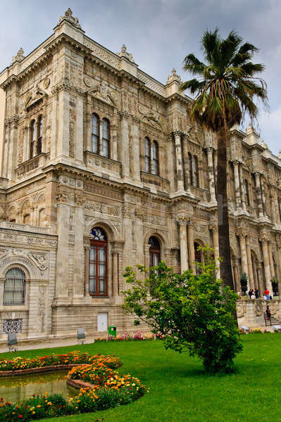 Istanbul - Facade View of Dolmabahce Palace, Turkey  Stock photo © Bertl123