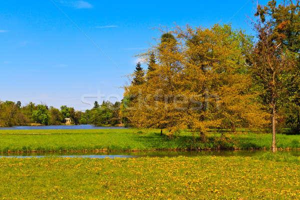 дворец садов ЮНЕСКО Мир наследие Сток-фото © Bertl123