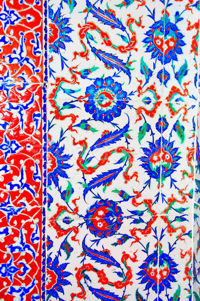 Iznik tile colorful ornamental details Stock photo © Bertl123